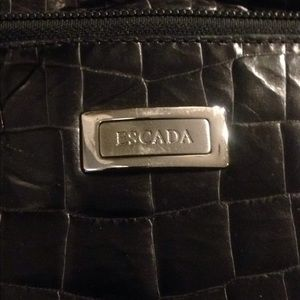 Escada Bags - Authentic Esacada black leather bag